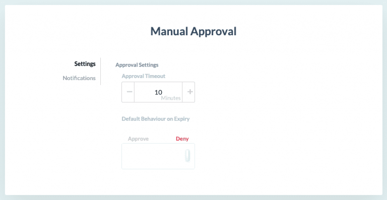 Set approval process to stop rogue instances before they cost you money