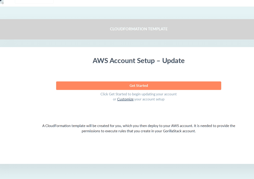 Setup your GorillaStack Cross-Account Role