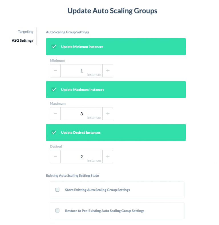Update Auto Scaling Groups to optimize AWS costs