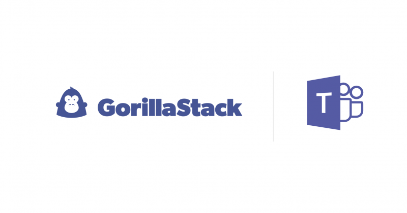 GorillaStack now supports Microsoft Teams