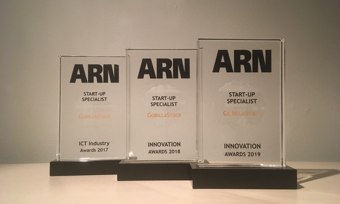 GorillaStack Named ARN Innovation Startup Specialist For Third Successive Year